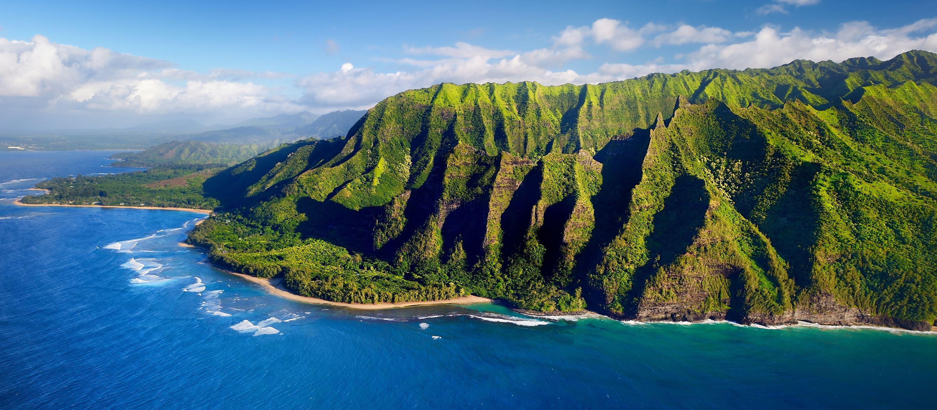 Der Na Pali Coast State Park auf Kauai