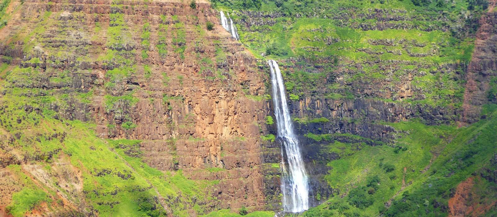 Waipoo Falls auf Kauai