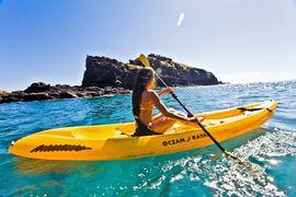 Bootfahren auf der Hawaii Insel Lanai