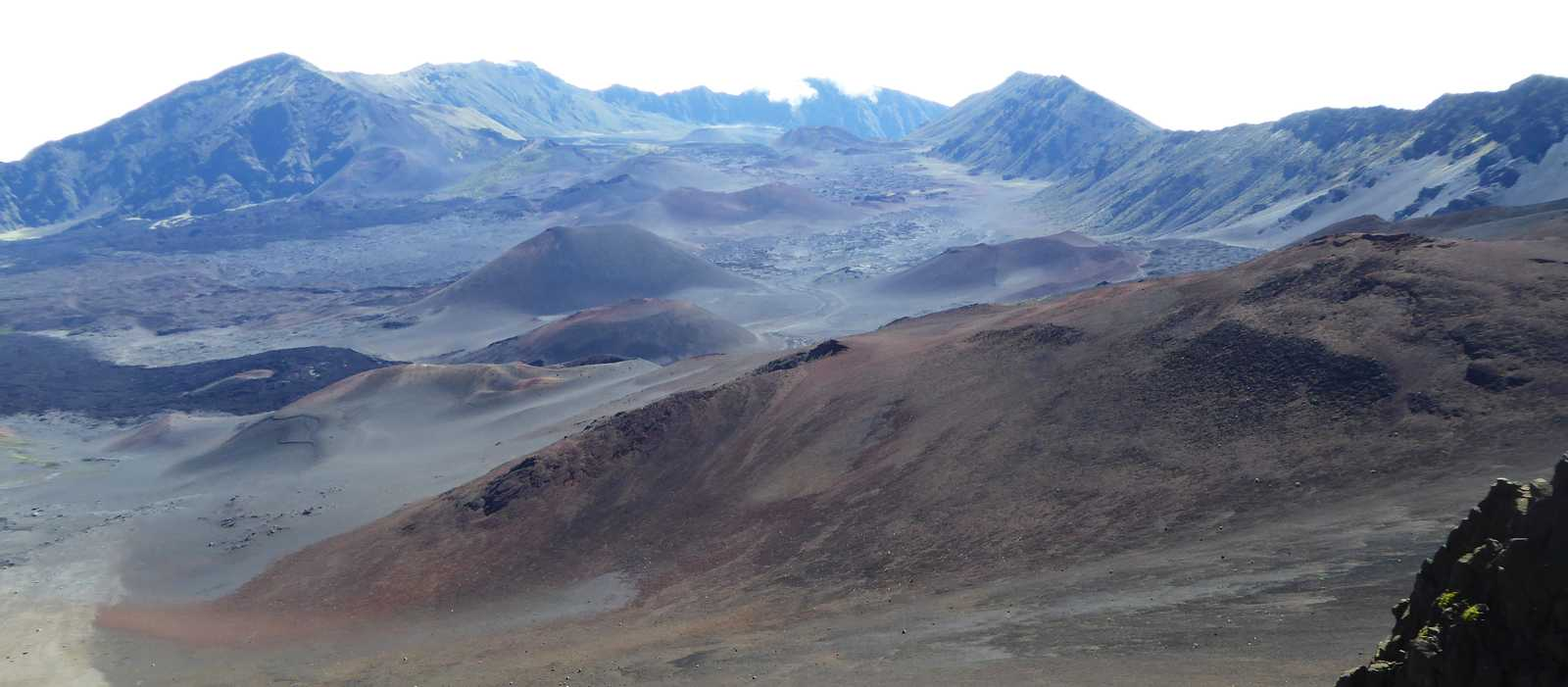 Der Haleakala Vulkan