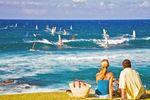 Der Hookipa Beach auf Maui, Hawaii