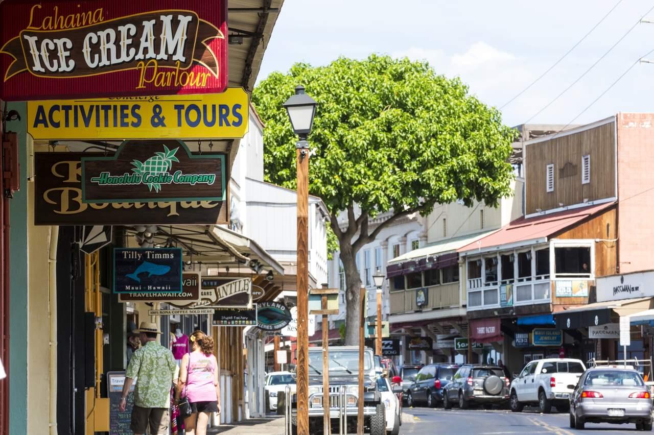 Lahaina Front Street, Maui