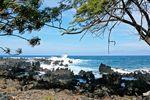 Die rauen Strände auf Maui, Hawaii