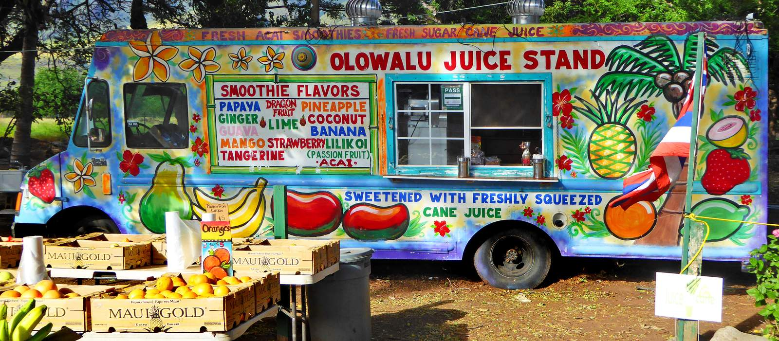 Olawalu Fruit Stand