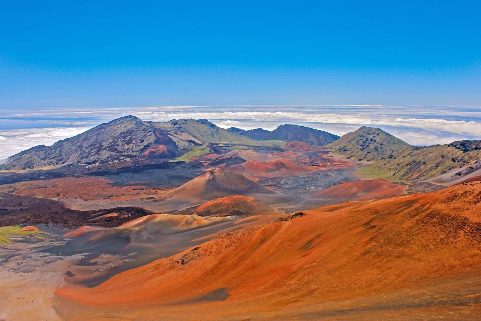 Haleakala Krater auf Maui