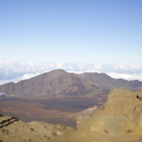 Blick über den Haleakala Krater