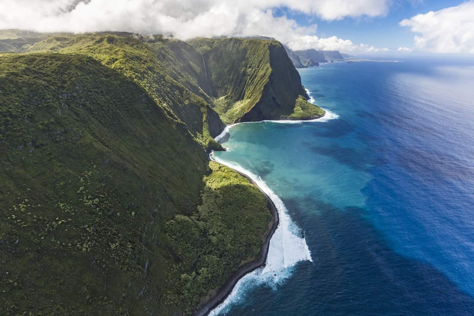 Küste von Molokai