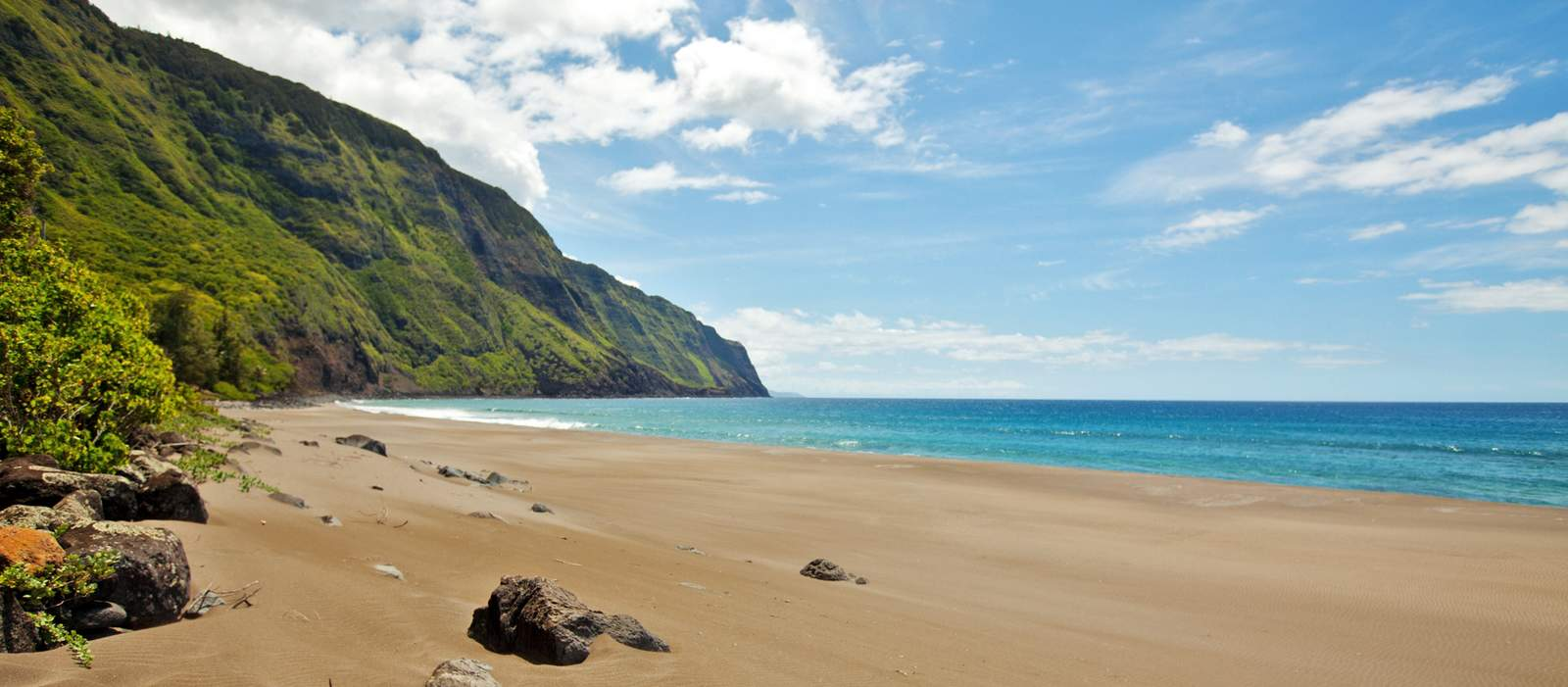 Blick auf die Molokai Sea Cliffs