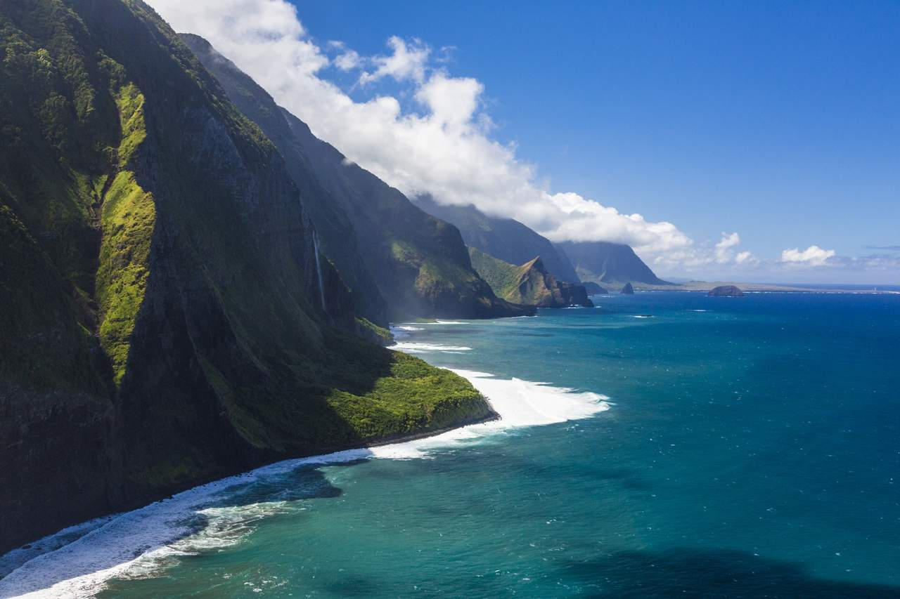 Pali Sea Cliffs, Molokai