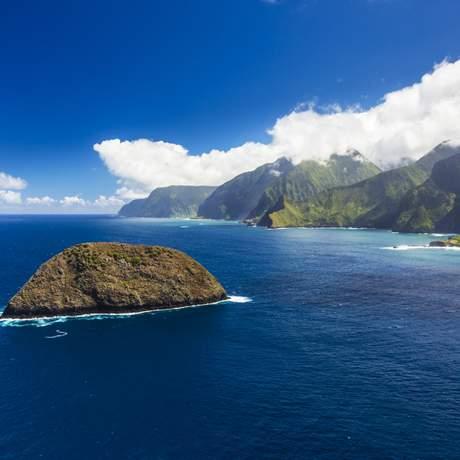 Pali Coast, Molokai