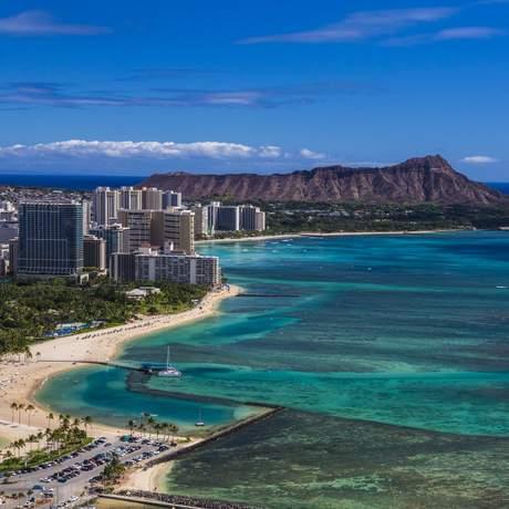 Waikiki and Leahi