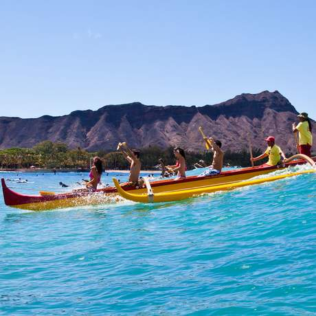 Boot vorm Diamond Head