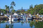 Der Haleiwa Hafen auf Oahu, Hawaii