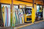 Surfbretter Shop auf Oahu, Hawaii