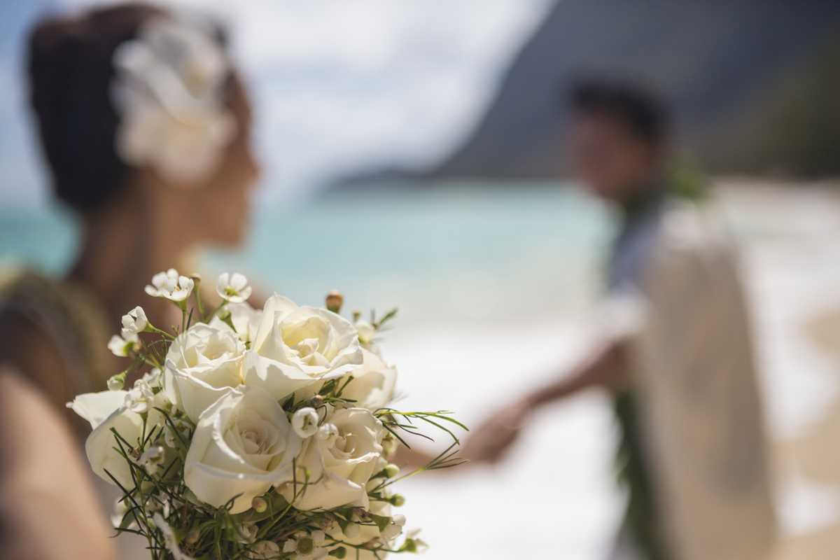 Heiraten am Strand auf Oahu