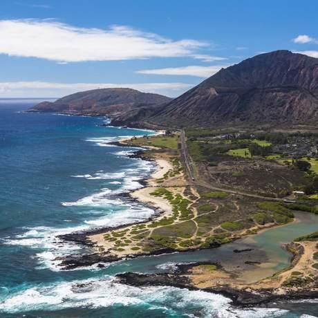 Ka lwi State Scenic Shoreline bei Honolulu, Oahu