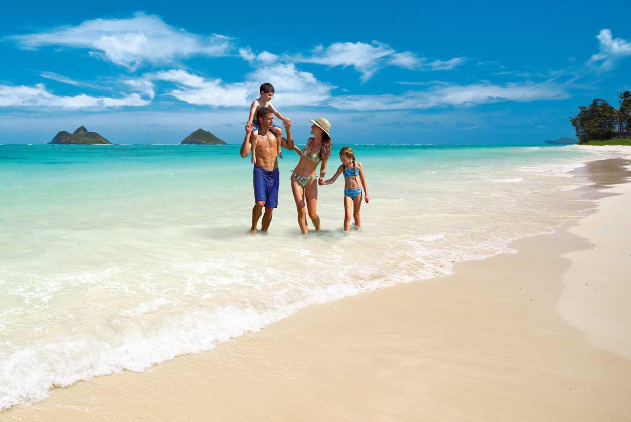 Traumstrand auf Oahu