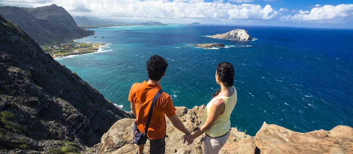 Ausblick vom Makapuu Lighthouse Trail, Oahu