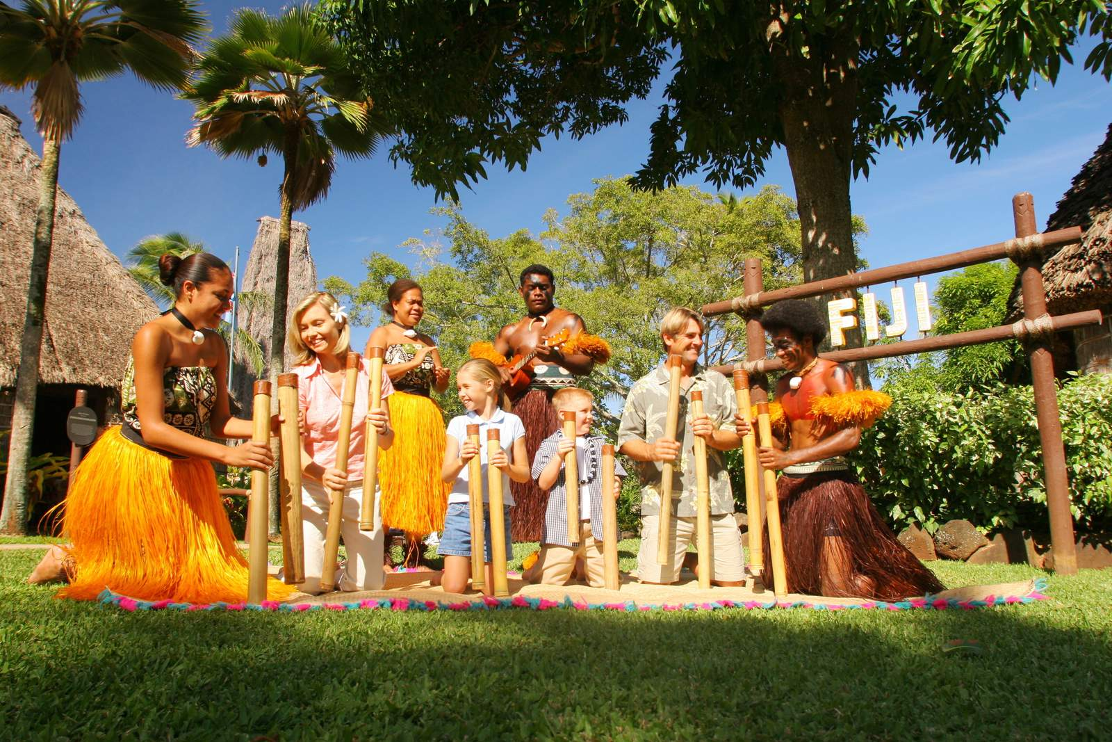 Polynesian Cultural Center auf Oahu