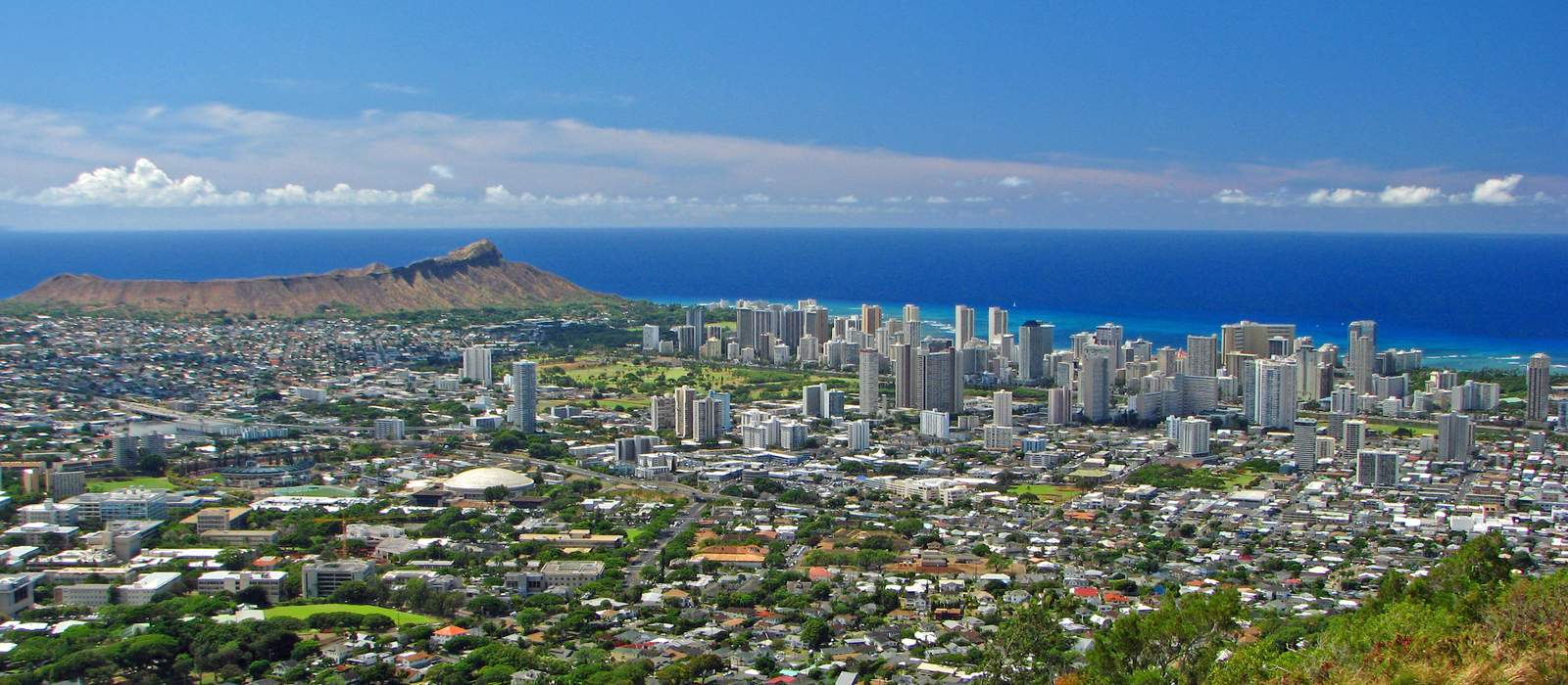 Waikiki Skyline & Diamond Head