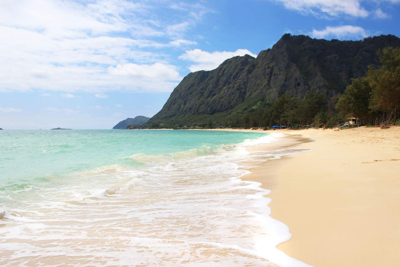 Waimanola Beach auf Oahu