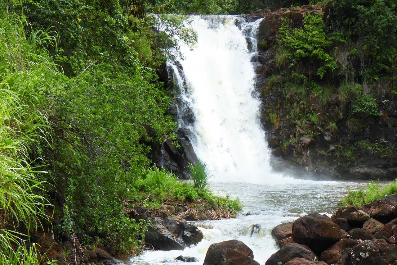 Waimea Falls, Oahu