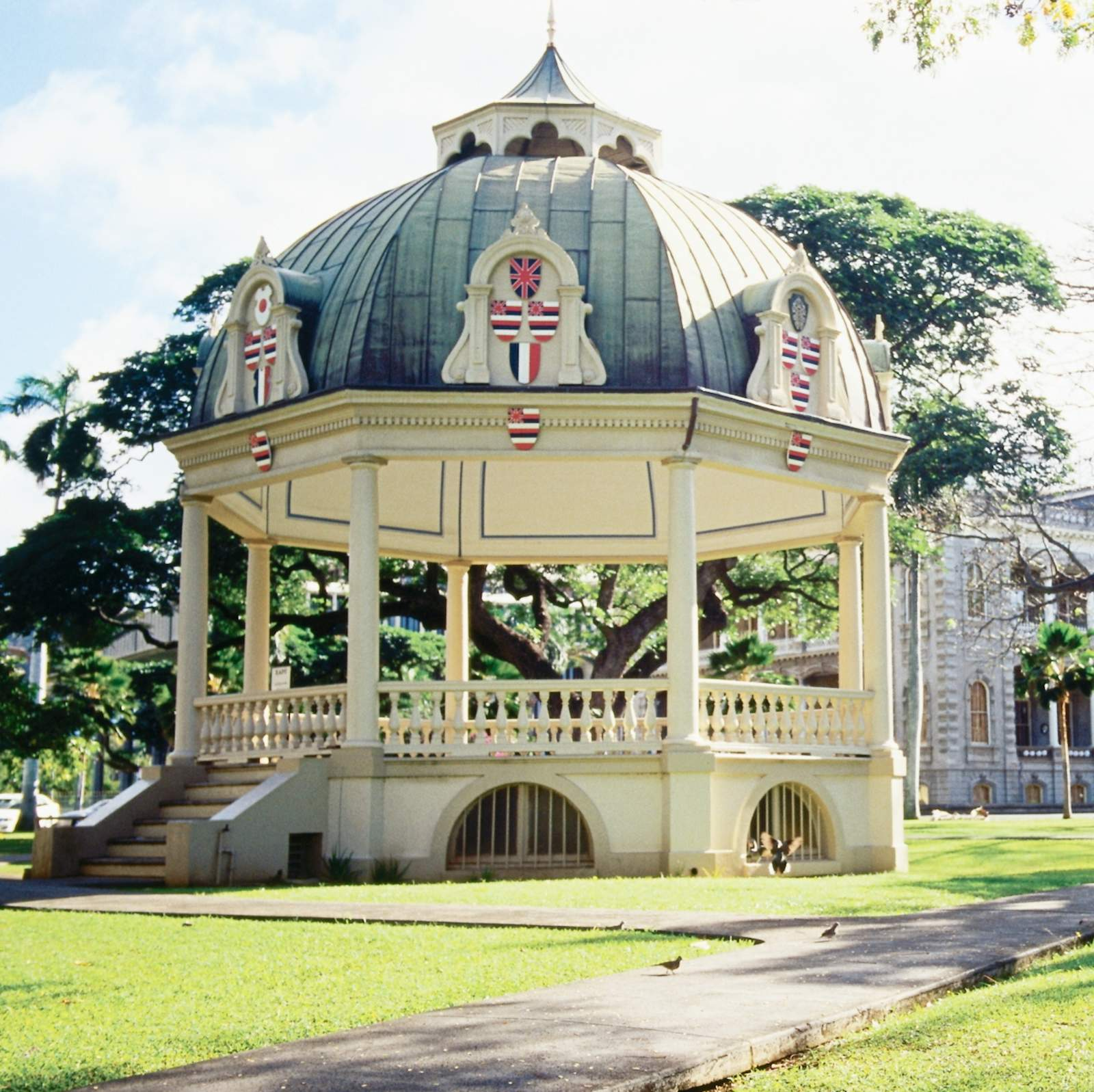 Royal Bandstand am Iolani Palace Grounds