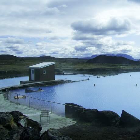 Myvatn Nature Bath in der Nähe von See Myvatn