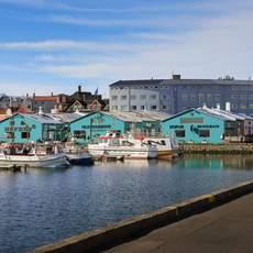 Kleiner Hafen in Reykjavik