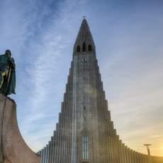 Hallgrimskirche in Reykjavik