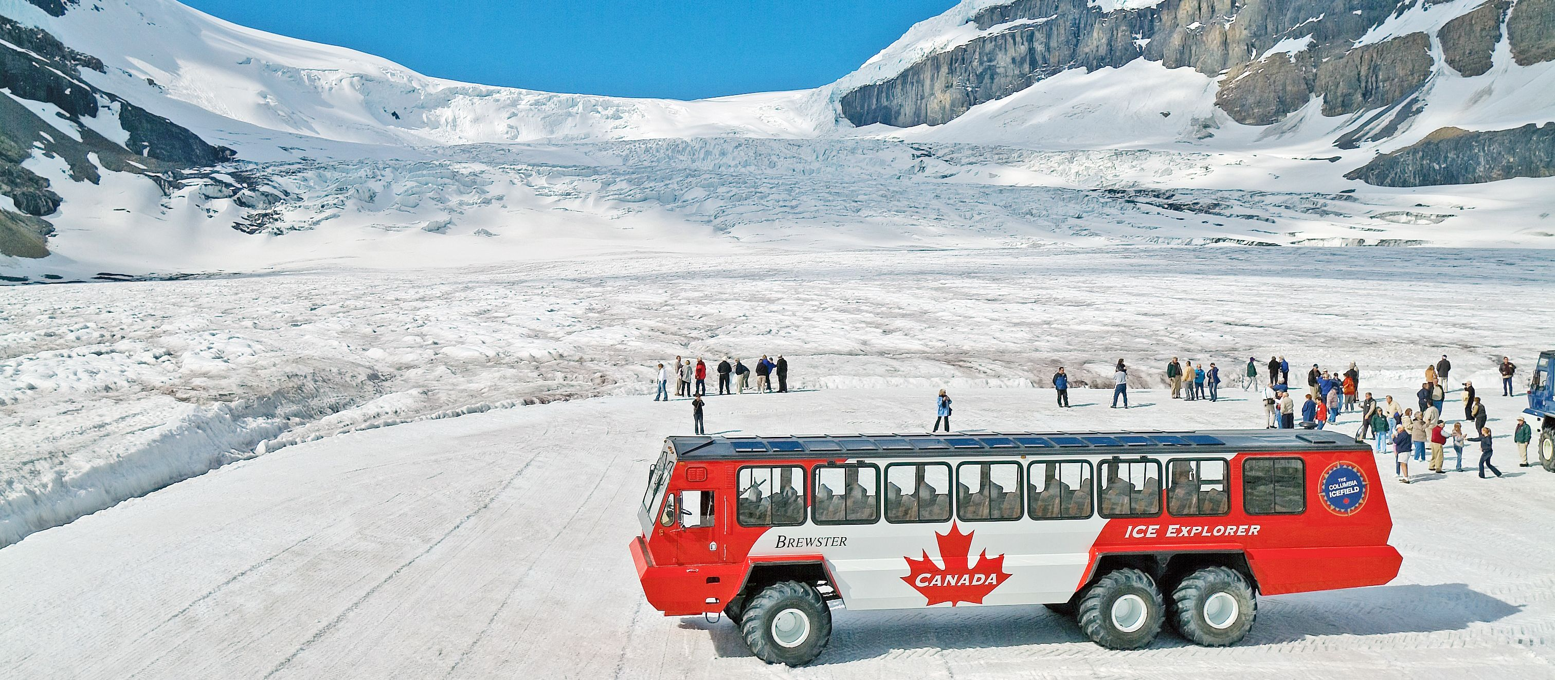 Brewster Ice Explorer Columbia Icefield