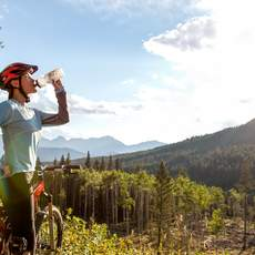 Mountainbiken am Crowsnest Pass