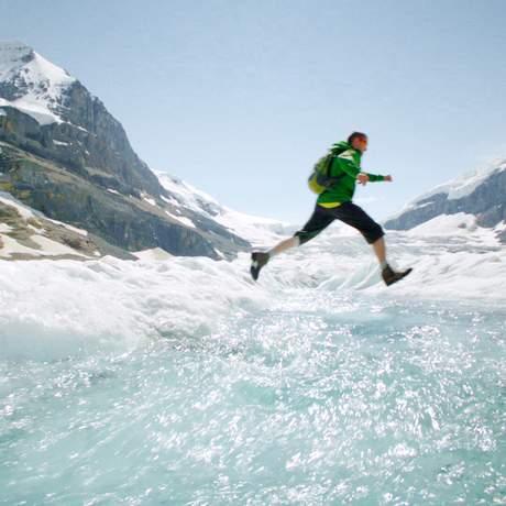 Gletscherwanderung in den Kanadischen Rocky Mountains
