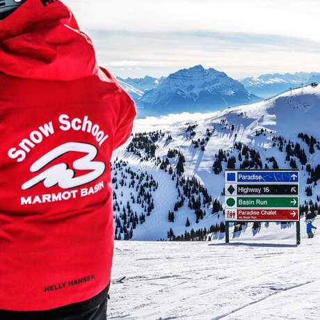 Marmot Basin Skigebiet in Alberta