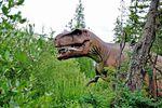 Dinosaurier im Jurassic Forest