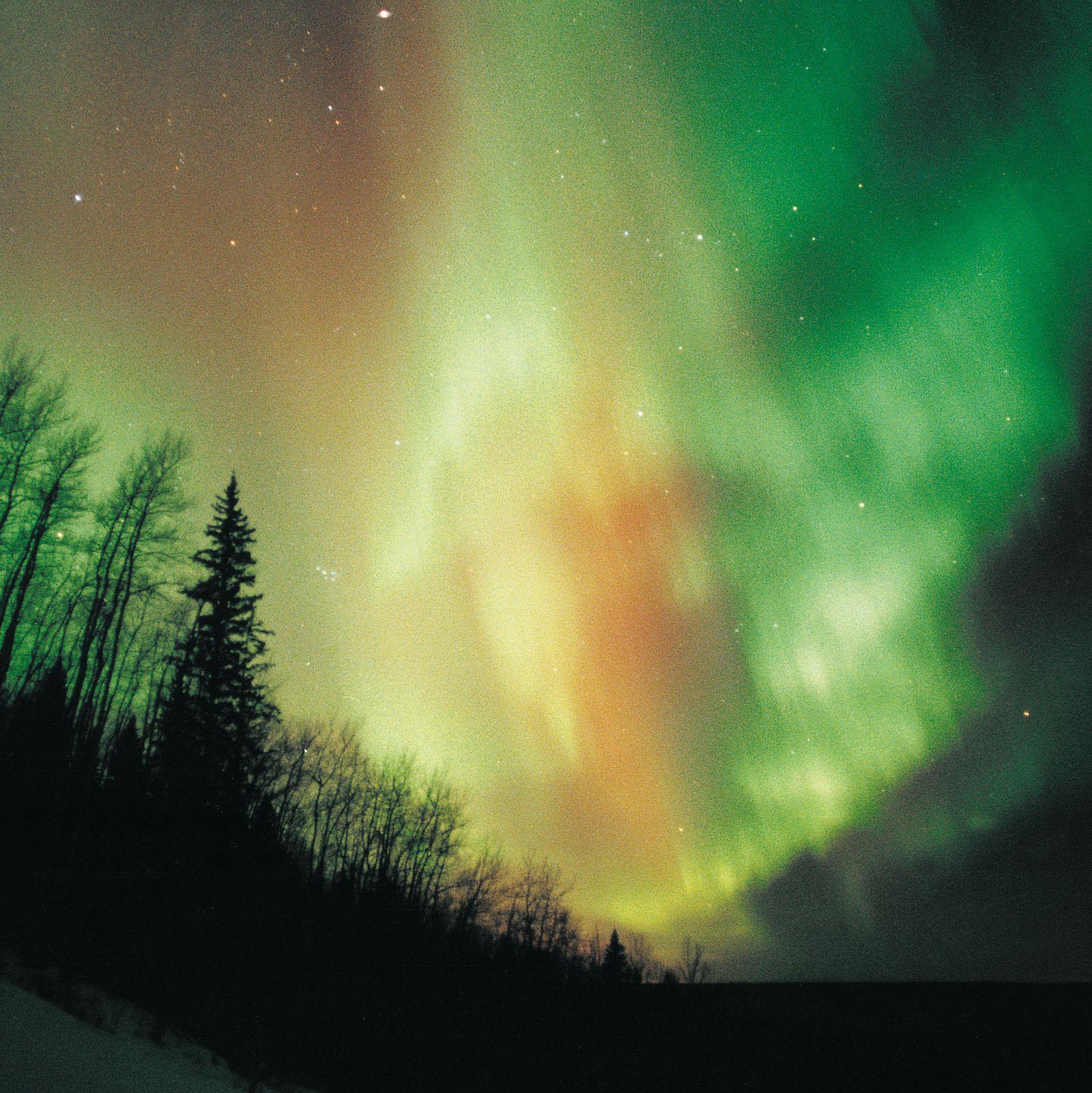 Nordlicht in Alberta