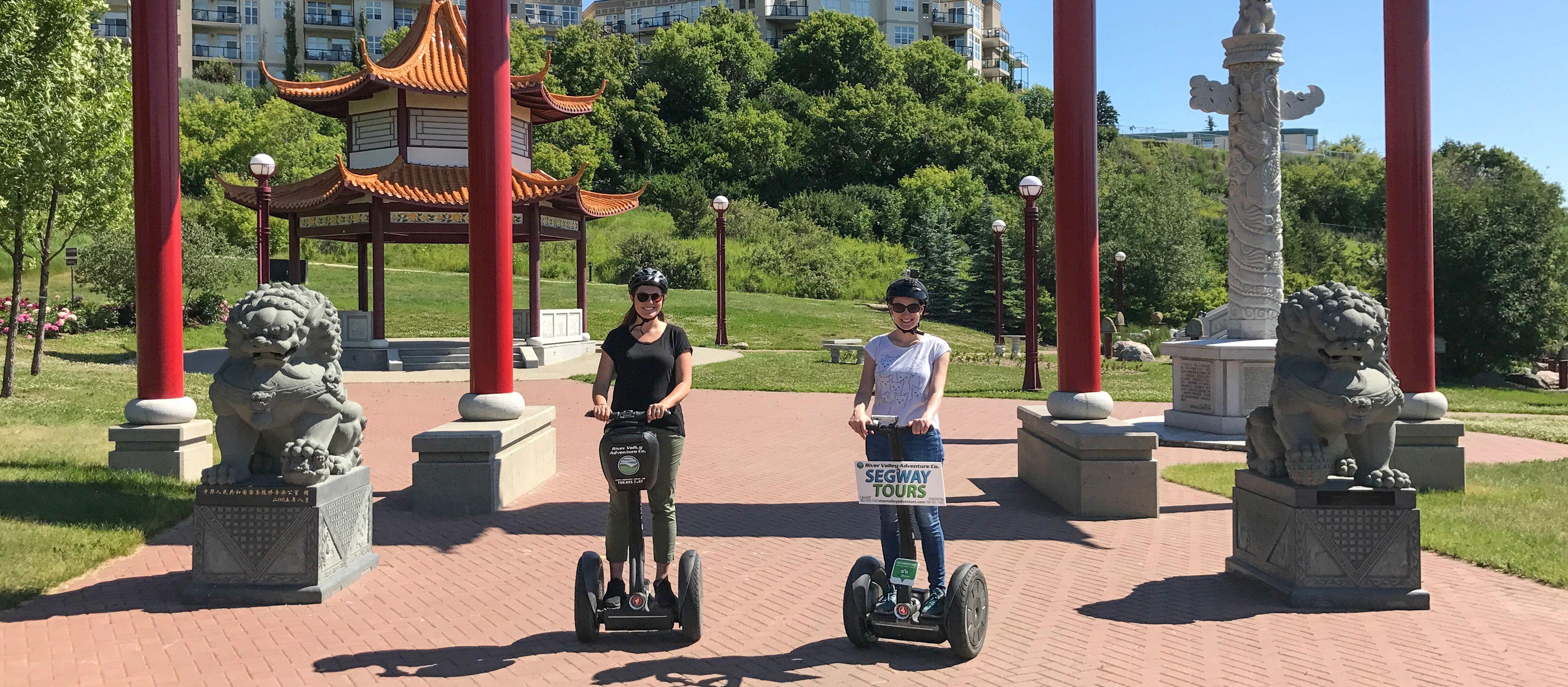 Sagwaytour durch Edmonton