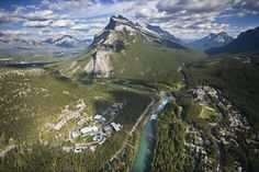 Banff im Sommer