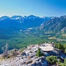 Aussicht im Banff National Park