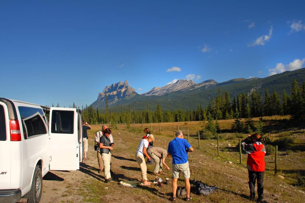Fotostopp Banff National Park, Alberta