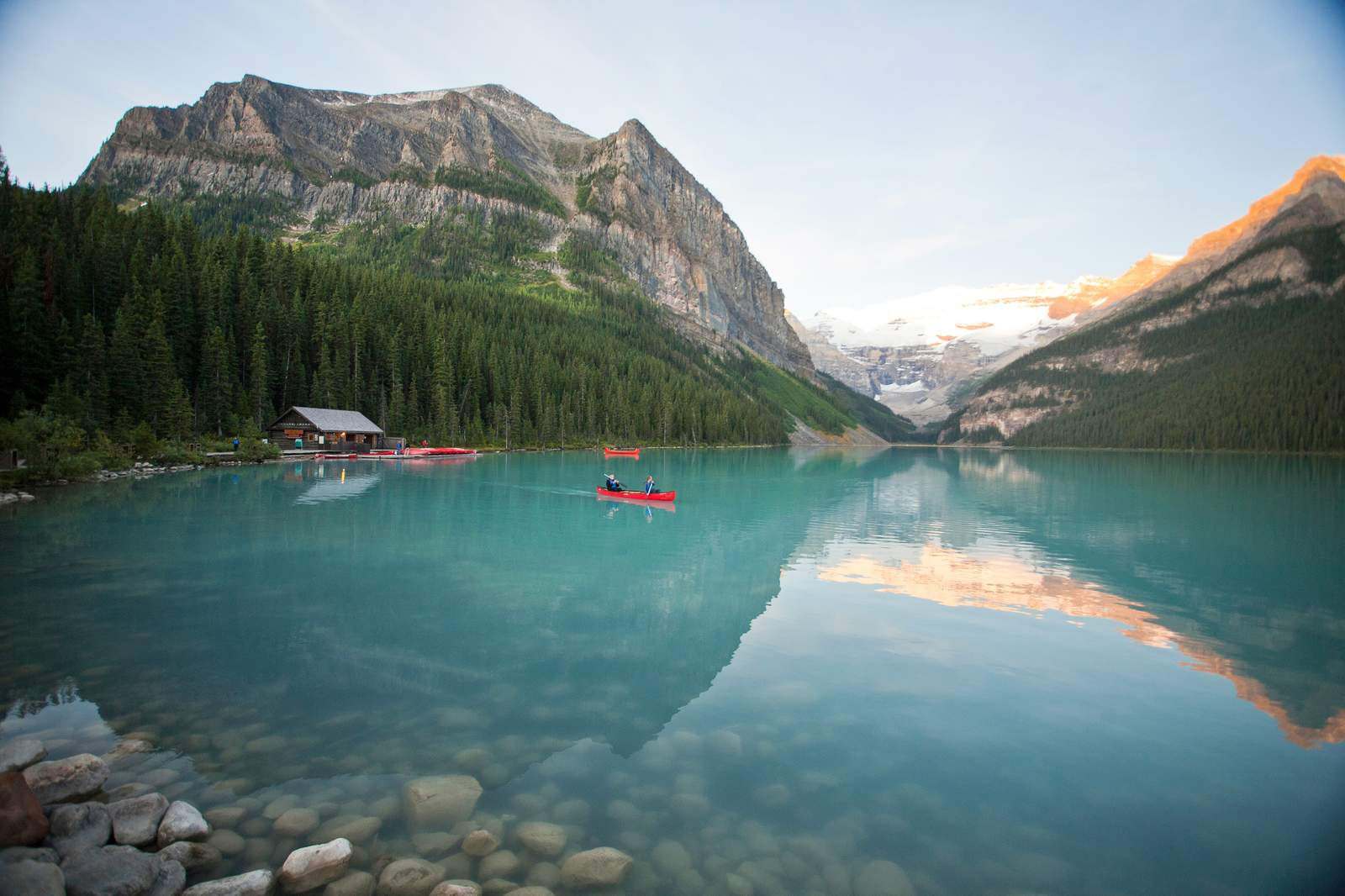 Lake Louise im Banff National Park