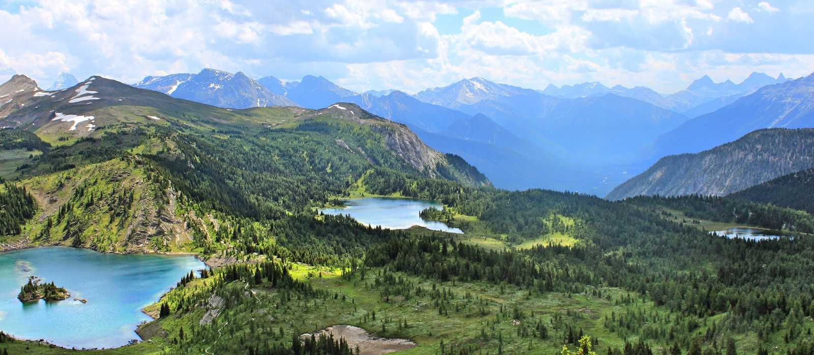 Sunshine Meadows im Banff National Park, Alberta