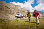 Alpine Walk mit Helikopter-Flug – Banff