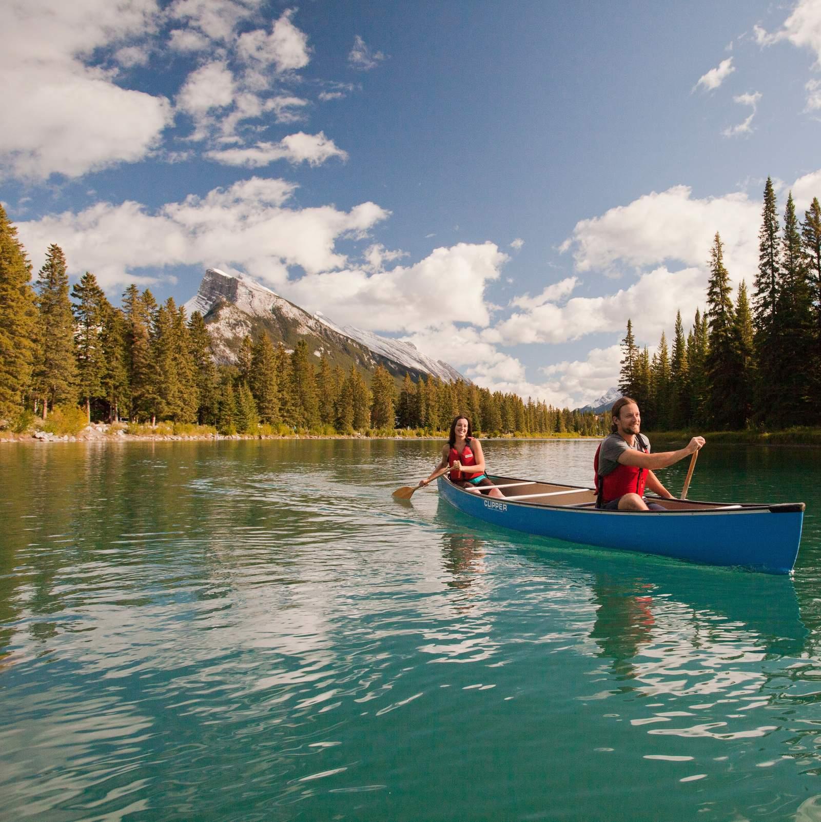 Kanutour Vermilion Lakes