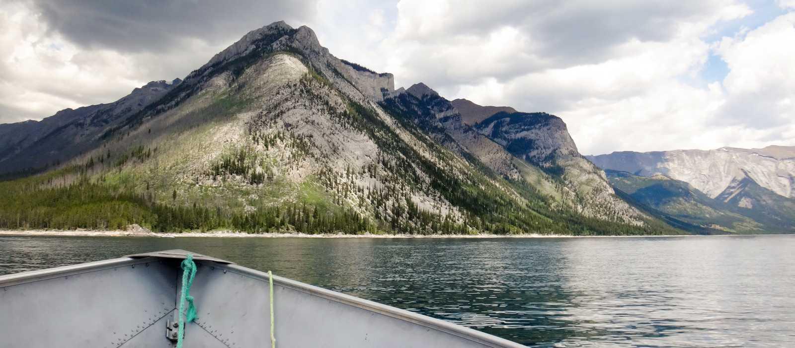 Bootstour auf dem Lake Minnewanka