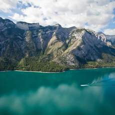 Lake Minnewanka - Boot