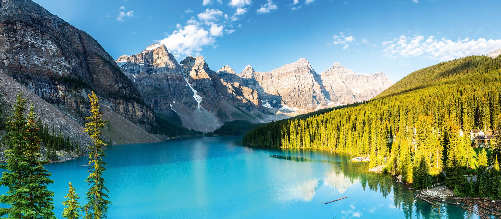 Moraine Lake Panorama, Banff, Alberta