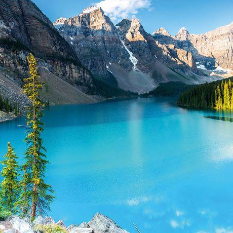 Moraine Lake Panorama, Banff, Alberta