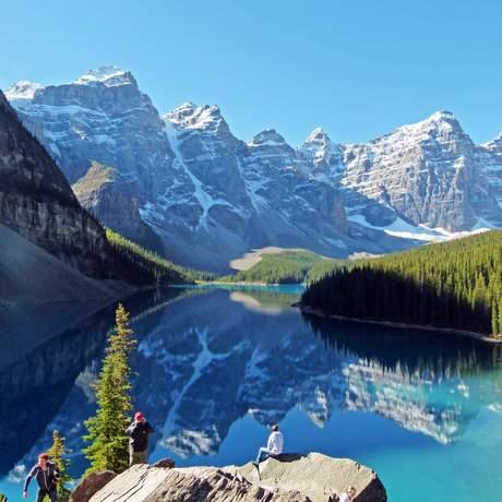 Wundervoller Moraine Lake