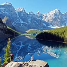 Wundervoller Moraine Lake